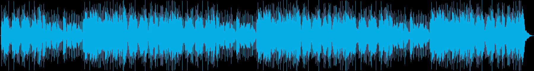 低いシンセパッドとパーカッションヒ...の再生済みの波形