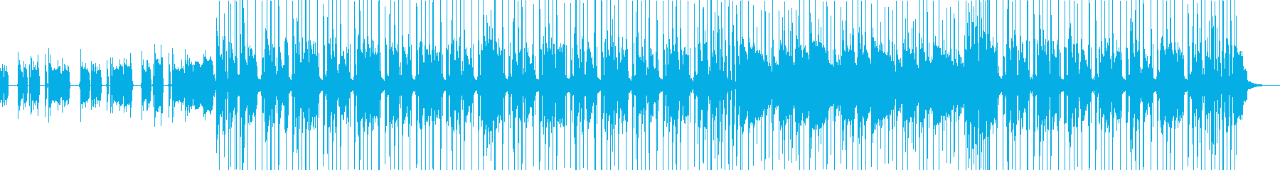 昔の探偵モノ刑事モノ風ファンクの再生済みの波形