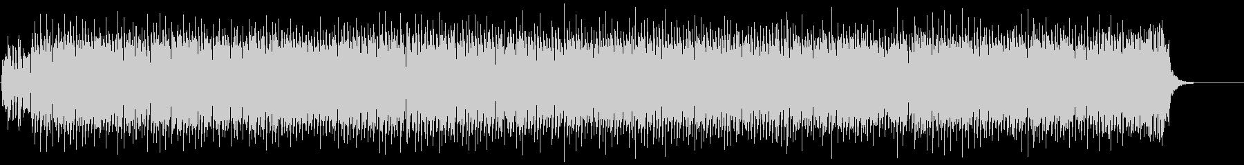 かわいいエンディング用キラキラ曲の未再生の波形