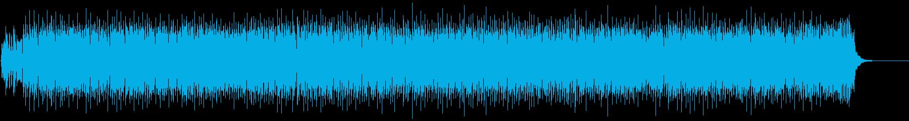 かわいいエンディング用キラキラ曲の再生済みの波形