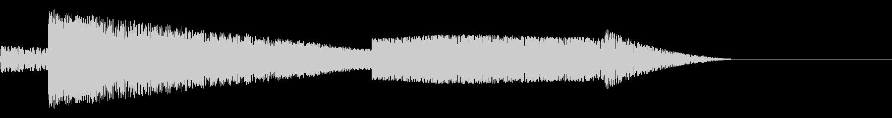 シュババ(爆発/ノイズ/爆風/嵐の未再生の波形