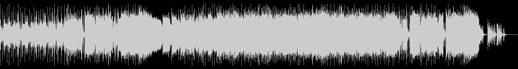 オーケストラ ✕ ロックバンドの未再生の波形