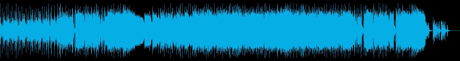 オーケストラ ✕ ロックバンドの再生済みの波形
