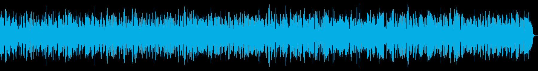 コミカルで明るいクラリネットジャズ8分の再生済みの波形