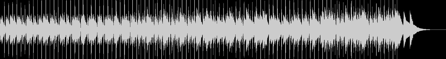 コソコソとした抜き足差し足なBGM Bの未再生の波形