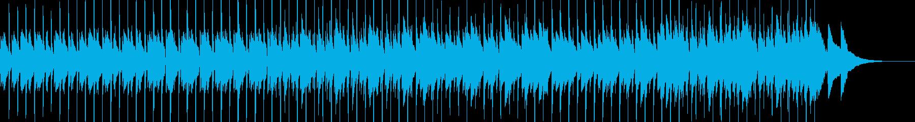 コソコソとした抜き足差し足なBGM Bの再生済みの波形