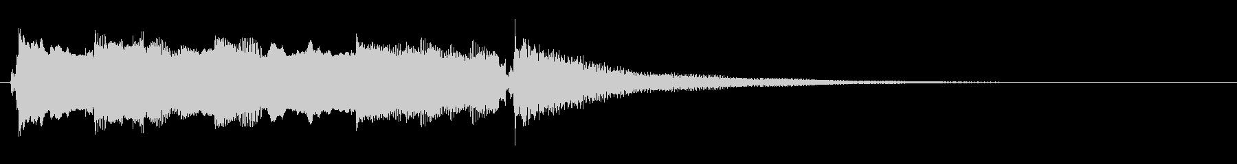 ディストーションギター ジングルの未再生の波形