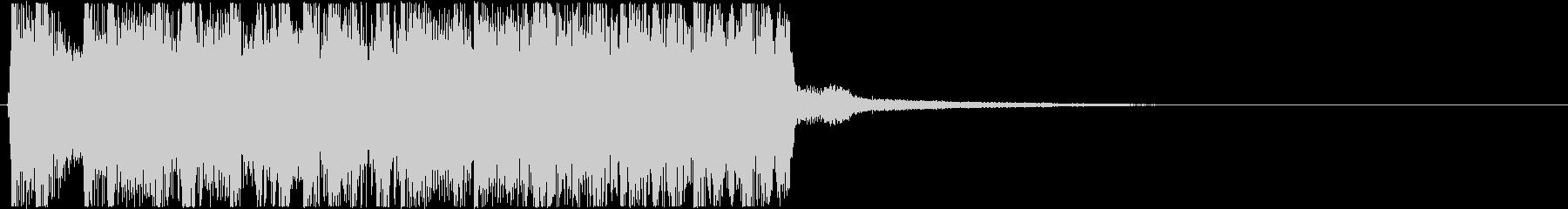 生演奏メタルなアイキャッチ8の未再生の波形