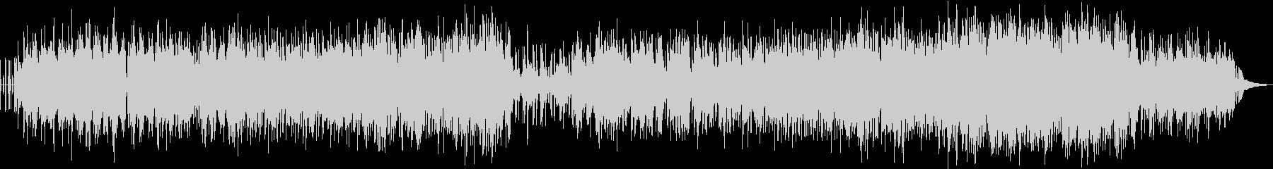 切ない雰囲気のエレクトロピアノポップの未再生の波形
