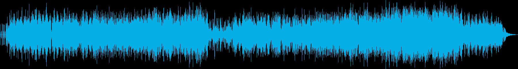 切ない雰囲気のエレクトロピアノポップの再生済みの波形