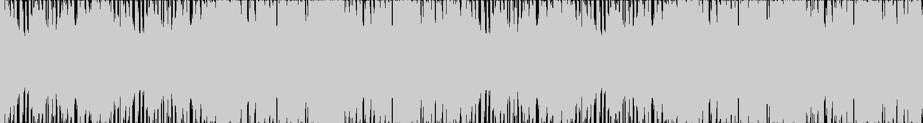 ゲームBGMピコピコ楽しいフィーバー状態の未再生の波形