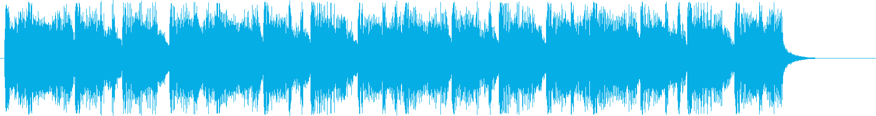 Trumpet song with a comical atmosphere's reproduced waveform