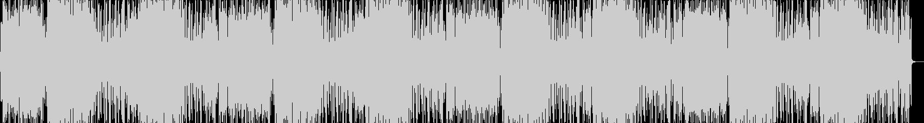 ピチカートがおしゃれなボサノバ風BGMの未再生の波形