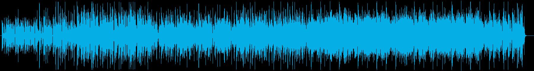 ファンキー・ダンサブル・ウキウキなR&Bの再生済みの波形