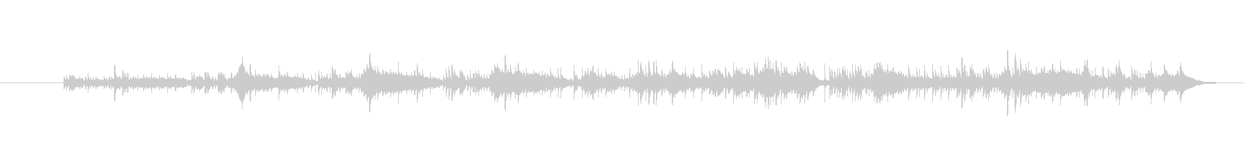 ma-ko song2の未再生の波形