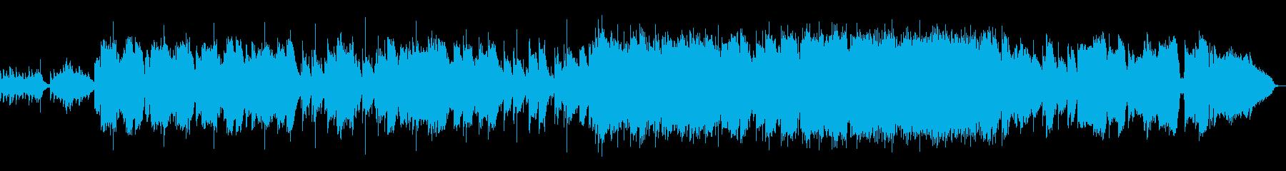 生演奏《トランペットのしっとりした和風曲の再生済みの波形