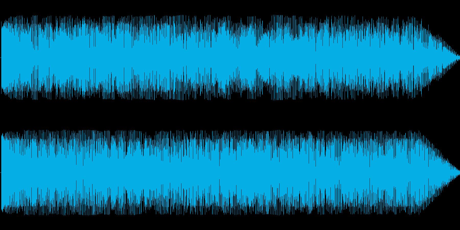 巨大なモンスター登場したような効果音の再生済みの波形