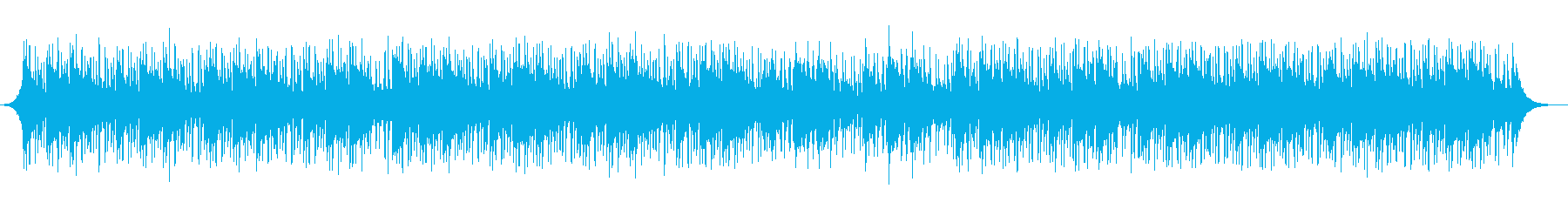インタビューの背景の再生済みの波形