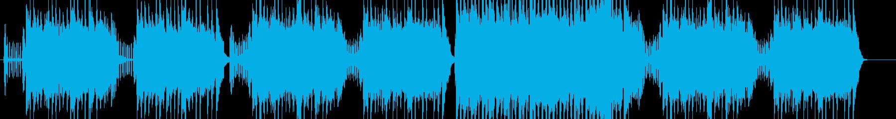 アコーディオンを使った異国情緒あるポップの再生済みの波形