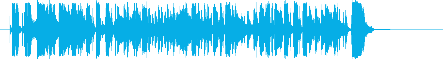 【生演奏】タワー・オブ・パワー風ジングルの再生済みの波形