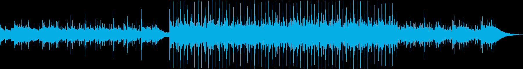 チルで爽やかなアコースティックポップスの再生済みの波形