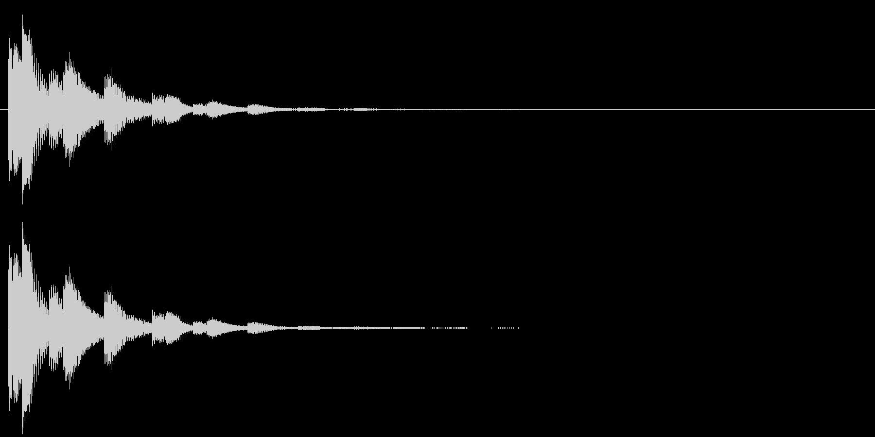 決定・空気感・キャッチー・印象的9の未再生の波形