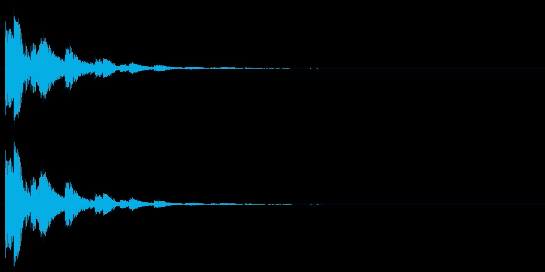 決定・空気感・キャッチー・印象的9の再生済みの波形
