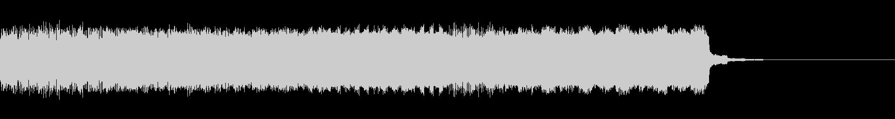 パチンコ的メロディインパクト音03の未再生の波形