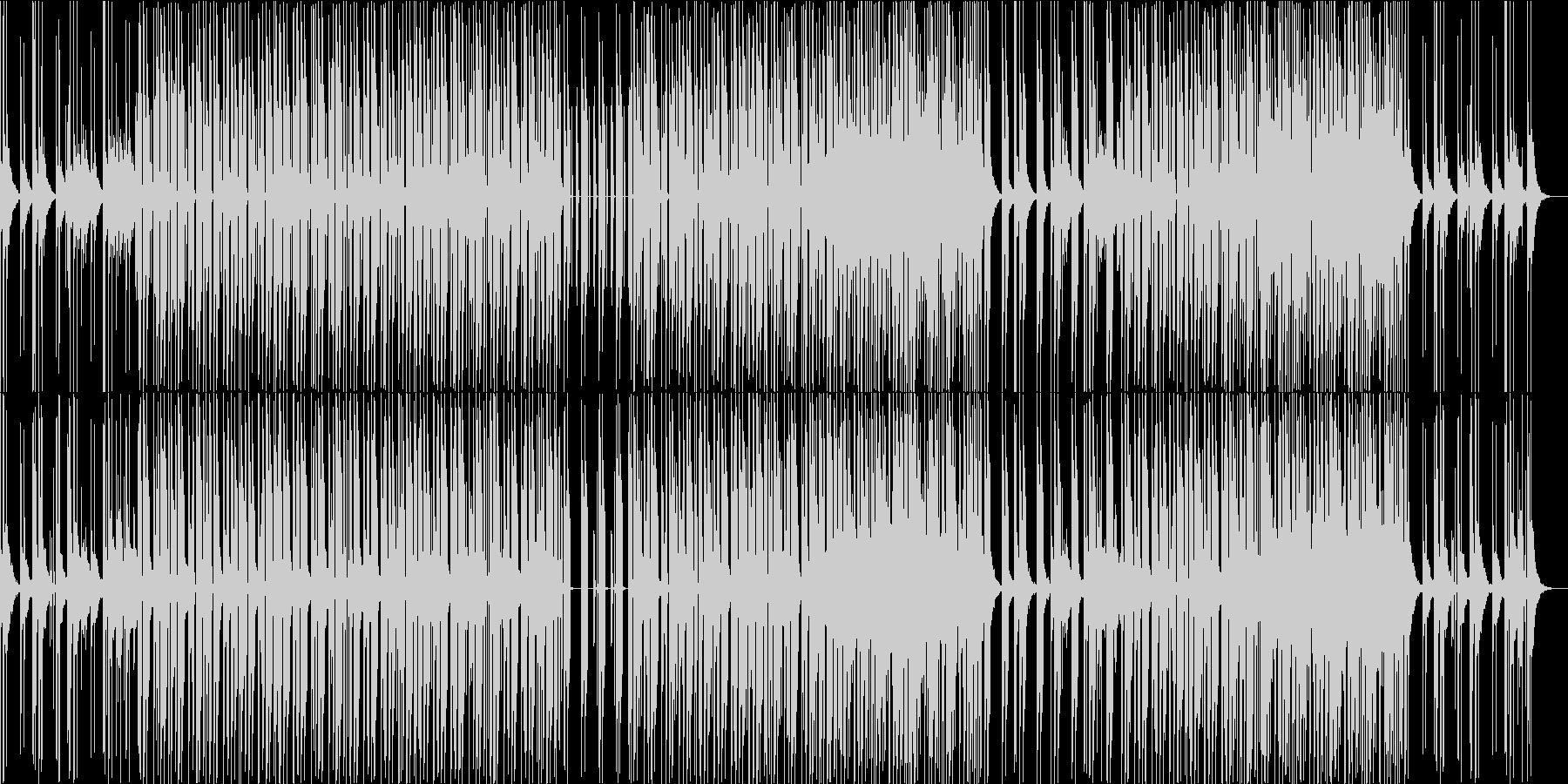 明るく楽しいトロピカルなEDM 南国の島の未再生の波形