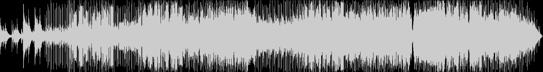 アコギ主体のバラードの未再生の波形