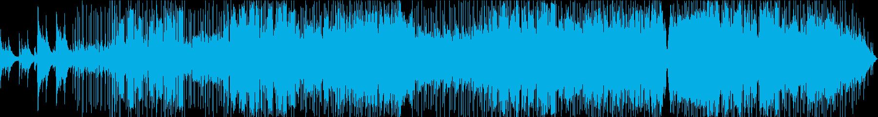 アコギ主体のバラードの再生済みの波形