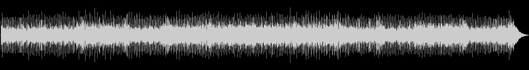 ストレートなカントリーロックの未再生の波形