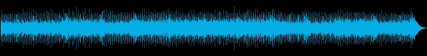 ストレートなカントリーロックの再生済みの波形