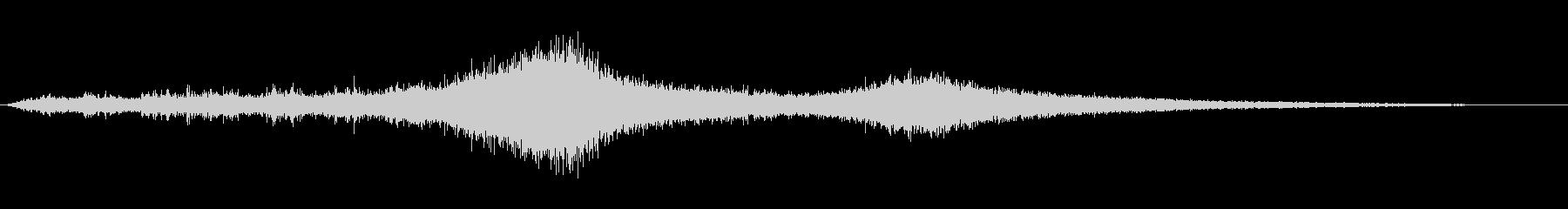 【生録音】 早朝の街 交通 環境音 3の未再生の波形
