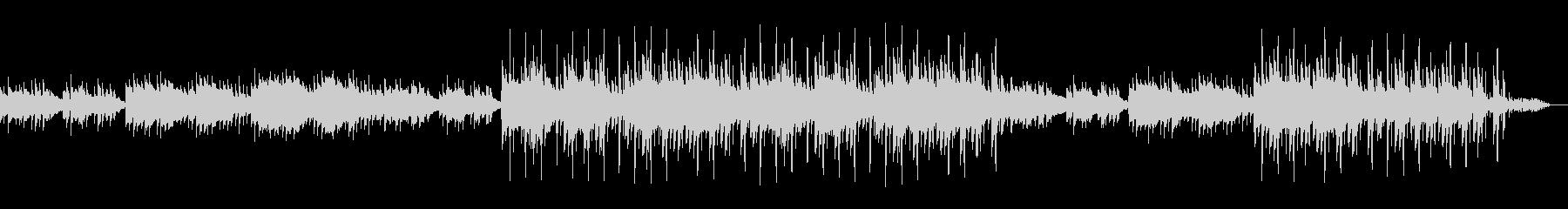 アコースティックギターのHIPHOPの未再生の波形