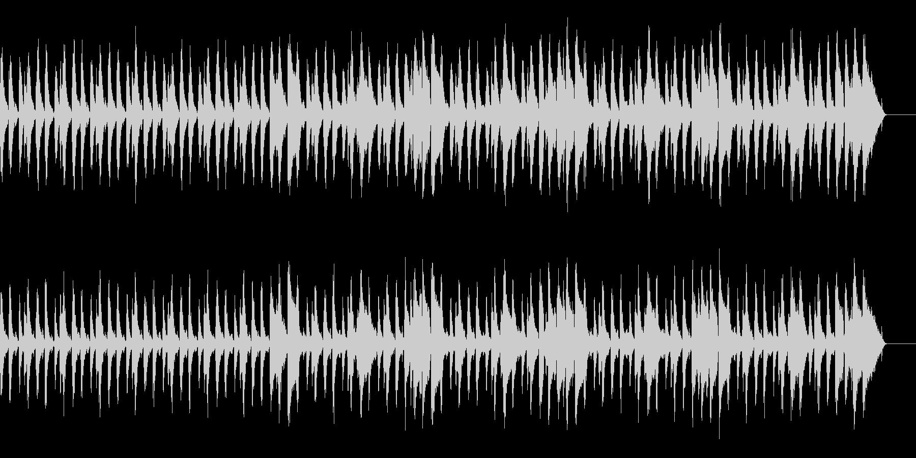 リズミカルでかわいいCMの未再生の波形
