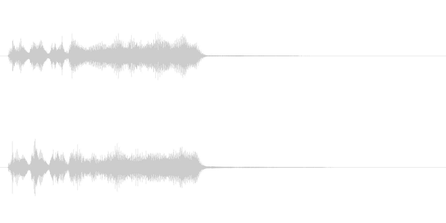 玩具系ファンファーレ-06の未再生の波形