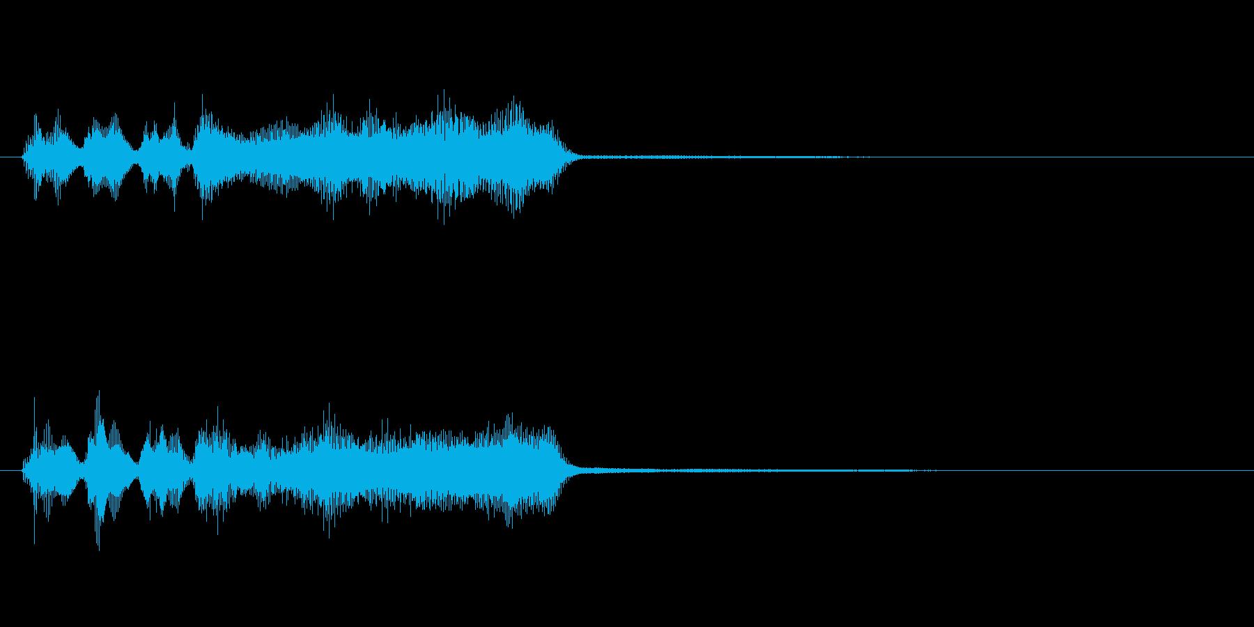 玩具系ファンファーレ-06の再生済みの波形