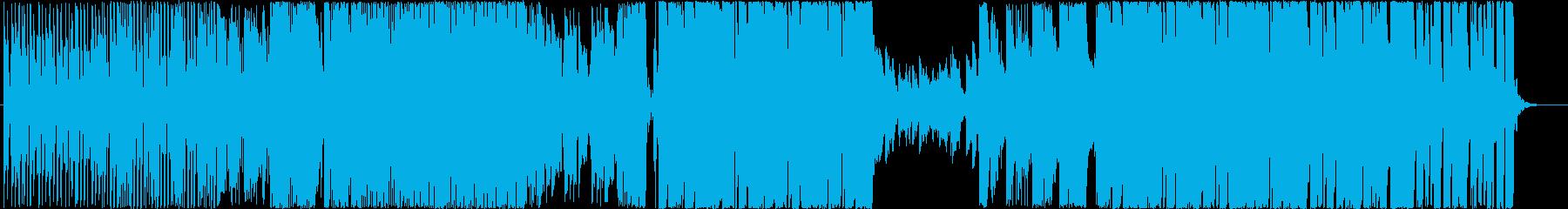 歌◆ポップなEDMの洋楽風男性ボーカルの再生済みの波形