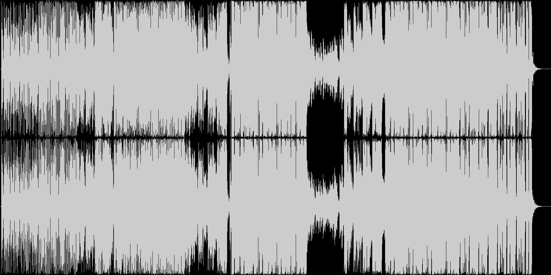 歌◆ポップなEDMの洋楽風男性ボーカルの未再生の波形