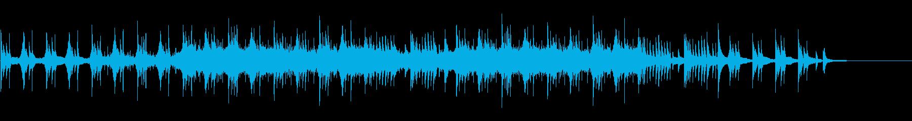 ピアノとか不思議な音の入ったインストの再生済みの波形