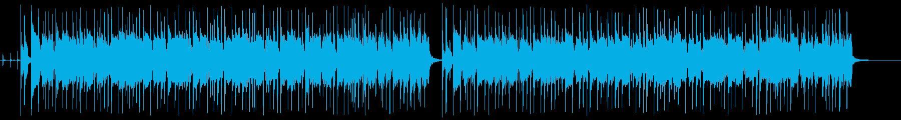 グルーヴィーでトリッピーなオルガン...の再生済みの波形