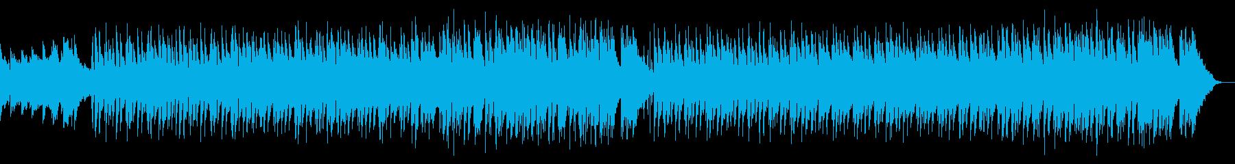 キラキラした冬の温かなポップスの再生済みの波形