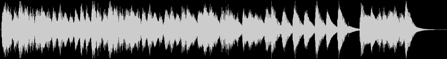魔法CMハロウィン映像用の怪しく可愛い曲の未再生の波形