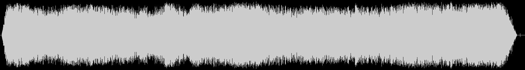 カテドラルルームトーンの未再生の波形