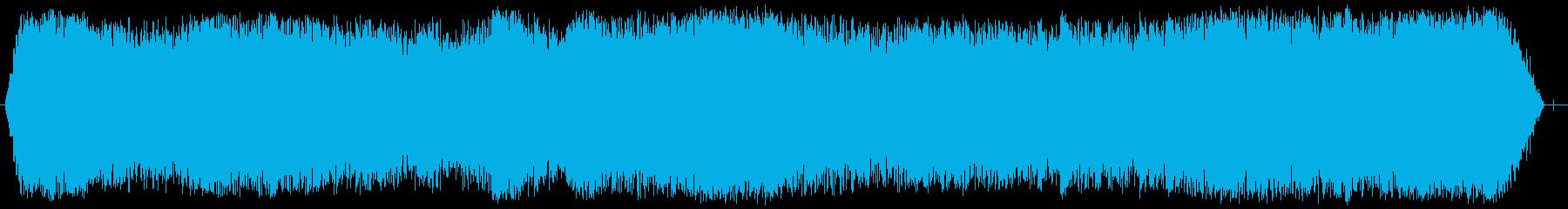 カテドラルルームトーンの再生済みの波形
