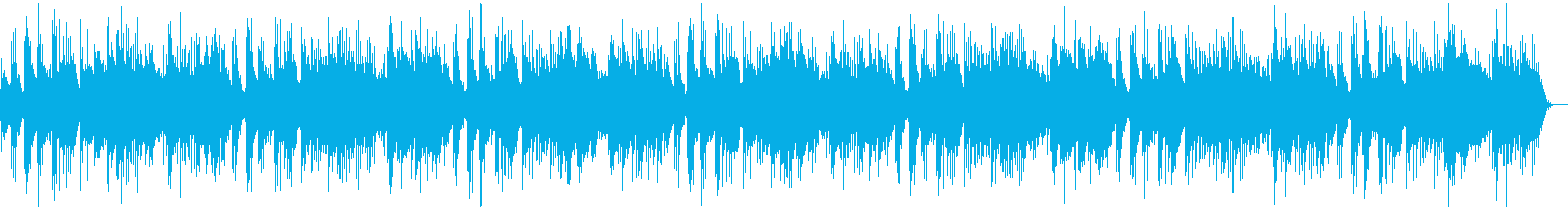 A calm and somewhat boring piano melody's reproduced waveform