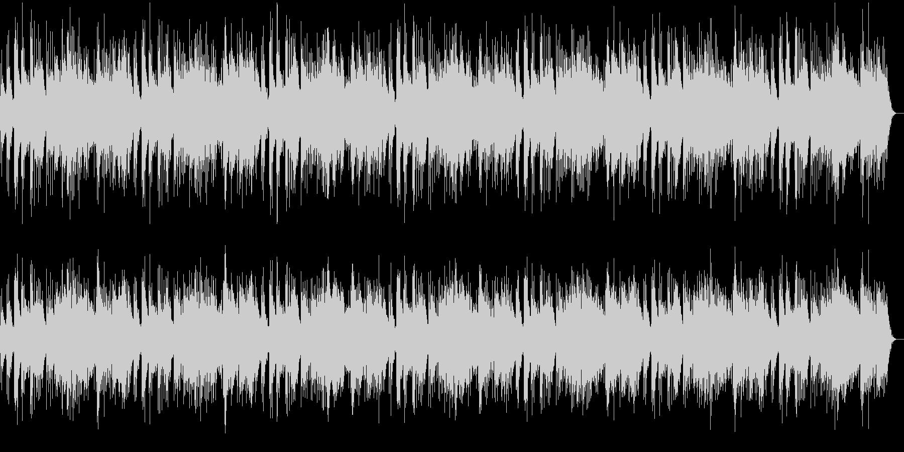 穏やかでどこか切ないピアノメロディーの未再生の波形
