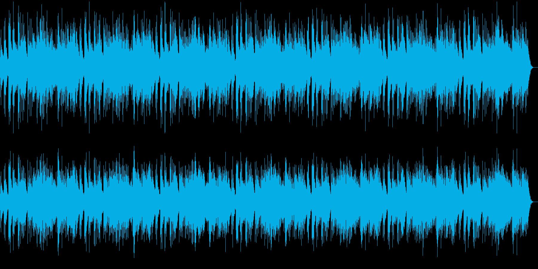 穏やかでどこか切ないピアノメロディーの再生済みの波形