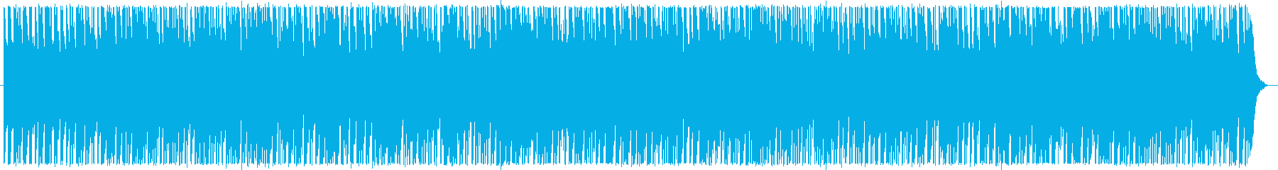 明るくてかわいいテクノポップの再生済みの波形